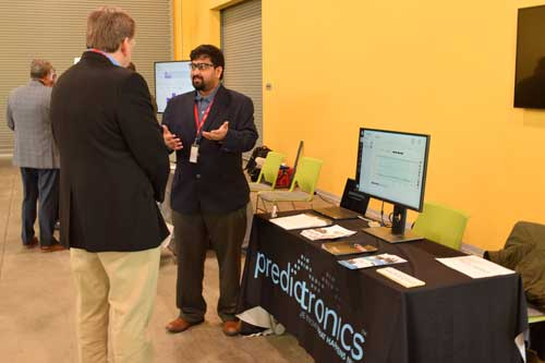 Predictronics Booth at MxD Floor Day